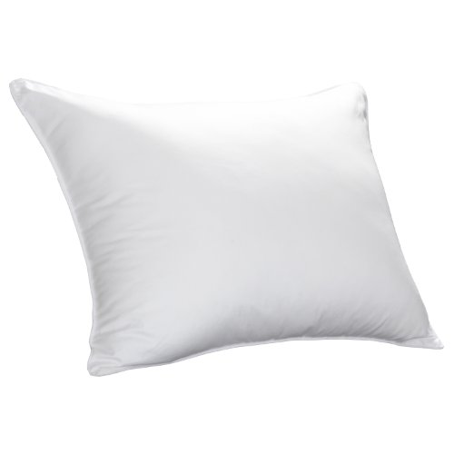 Cuddledown Sateen Synthetic Pillow, Soft White, Standard