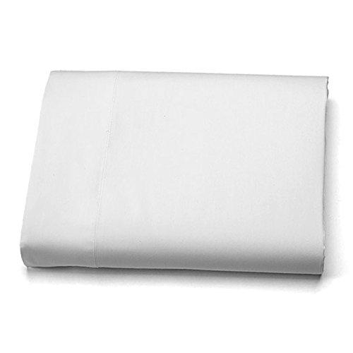 Flat Top Sheet Premium Microfiber King, White