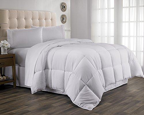 Queen Comforter, Year Round Down Alternative Comforter, Duvet Insert, Fluffy ,Warm , and Soft by Hanna Kay Queen