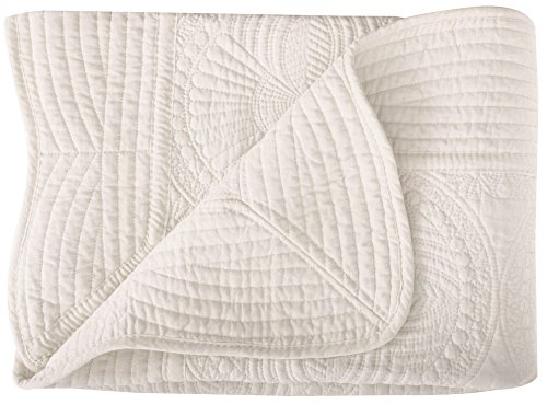 Lightweight All Weather Embossed Detail Cotton Baby Coverlet 36″ x 48″