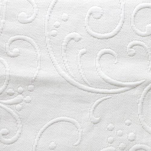 Braga Matelasse Coverlet, King, White