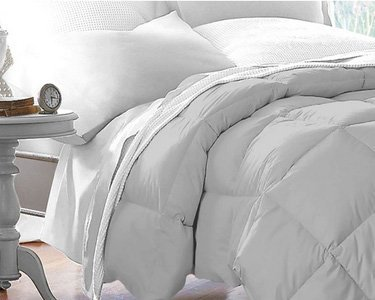 Hotel Quality Comforter and Hypoallergenic -Twin/Twin XL – Beckham Hotel Collection 1500 Series – Gray – Lightweight – Luxury Goose Down Alternative Comforter