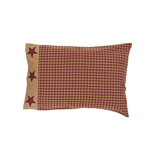 VHC Brands 13617 Abilene Star Fabric Euro Sham 26×26