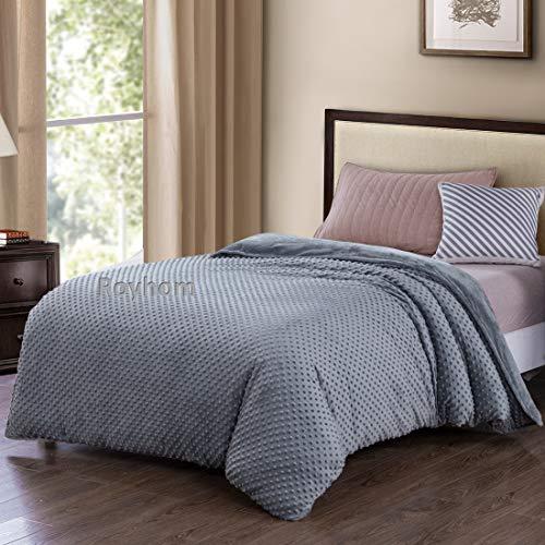 royhom removable duvet covers for weighted blanket minky pot duvet cover comfortable blanket. Black Bedroom Furniture Sets. Home Design Ideas