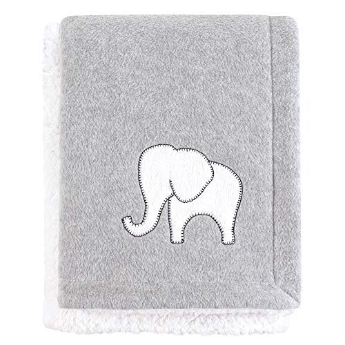 Hudson Baby Mink Blanket With Sherpa Backing Royal Safari