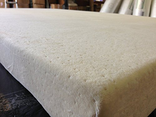 SOFT HEAVEN Topper Cover All Around Zipper Non Skid Bottom Hypoallergenic Bed Bug Dust Mite Luxury Jacquard Velour Fabric Cover for 2″, 3″, or 4″ thick Memory Foam Latex Mattress Pad, Full, 54″ x 74″