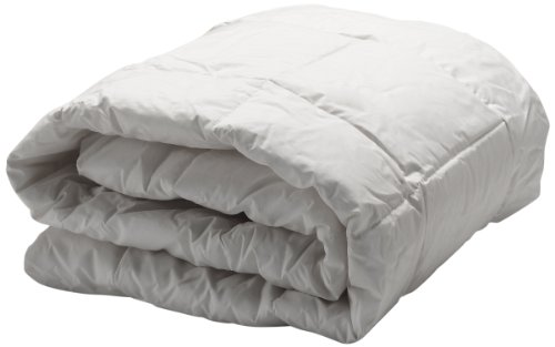 King, White – Lightweight All-Season Comforter – Blocks Dust Mites and Other Allergens – AllerEase Hot Water Washable Allergy Protection Comforter -Hypoallergenic, Allergist Recommended