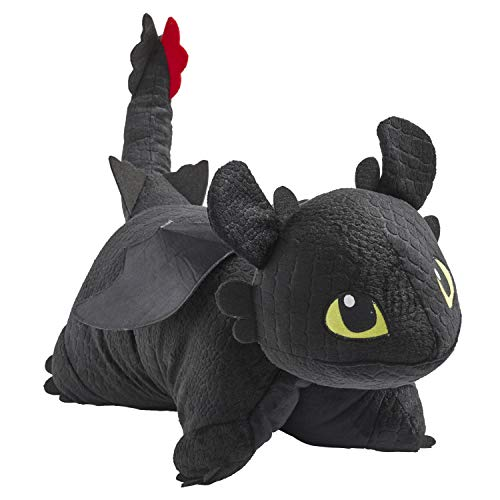 Pillow Pets NBCUniversal How to Train Your Dragon Toothless 16″ Stuffed Animal Plush Toy