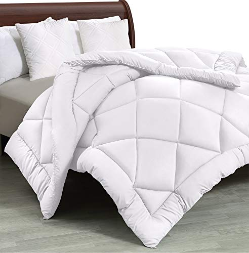 White – Utopia Bedding – All Season Quilted Duvet Insert – Full/Queen – Goose Down Alternative Comforter