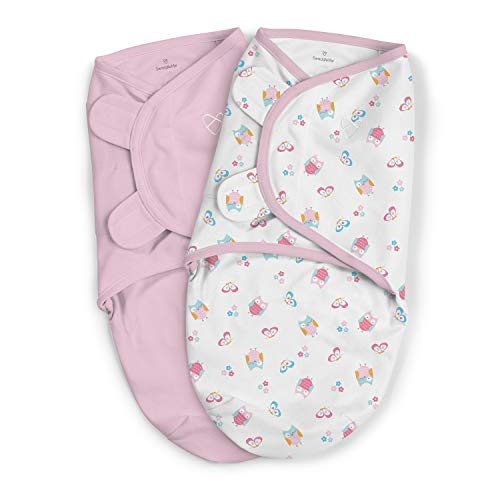 SwaddleMe Original Swaddle, Small 0-3 Months, 7-14 lbs What a Hoot