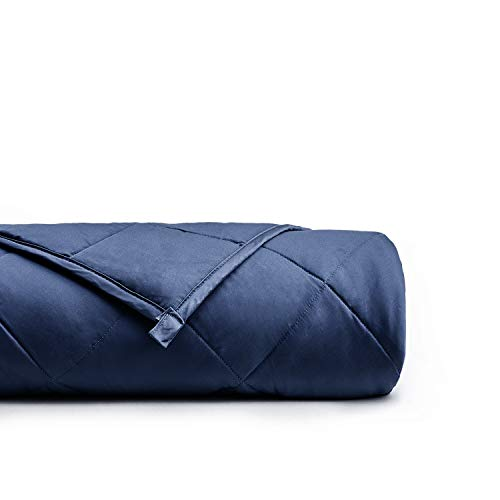 "YnM Weighted Blanket 10 lbs for Kids Weigh Around 90lbs, 41""x60"" 