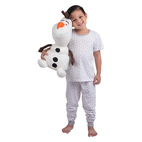 Franco Kids Bedding Super Soft Plush Snuggle Cuddle Pillow, One Size, Disney Frozen 2 Olaf