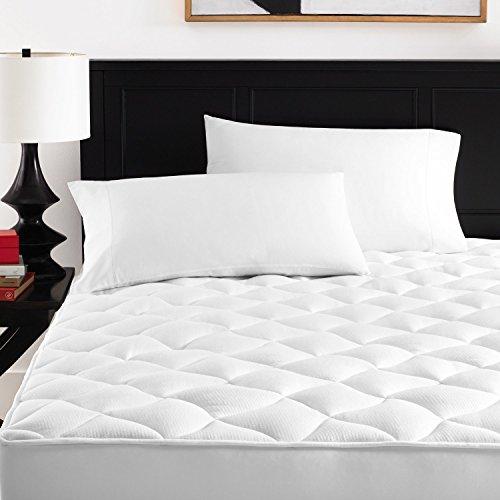Premium Hypoallergenic Mattress Pad – Queen – Zen Home Luxury Ultra Soft Rayon Derived from Bamboo Mattress Topper