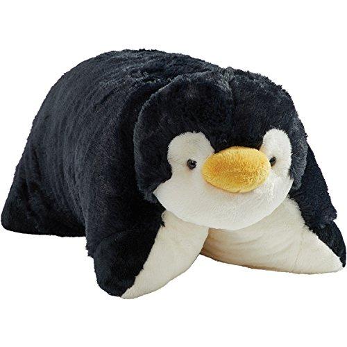Pillow Pets Signature Stuffed Animal Plush Toy 18″, Playful Penguin