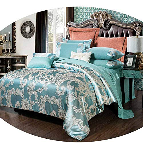 Quilt Set Cotton Patchwork Floral Print Coverlet Set All-Season Bedspread with Evergreen Pattern S013 King106″x96″