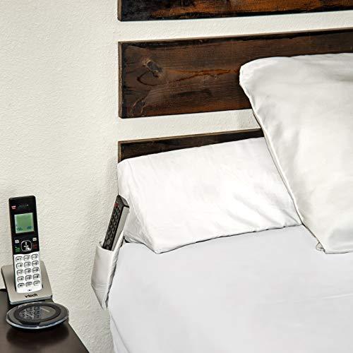 SnugStop Bed Wedge Mattress Wedge King Headboard Pillow Gap Filler