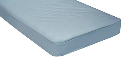 Blue – Cotton/Poly Fitted Cot Sheet