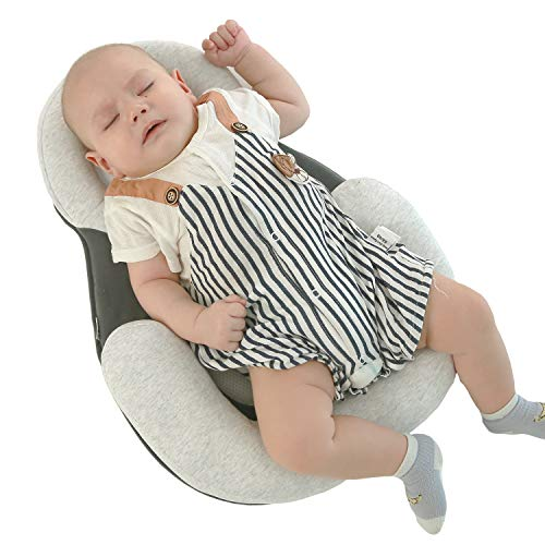 Heartbeat Cribs for Babies, Baby Mattress, Baby Crib Mattress Neonate Babies Head Support Pillow Best Baby Mattress for Crib
