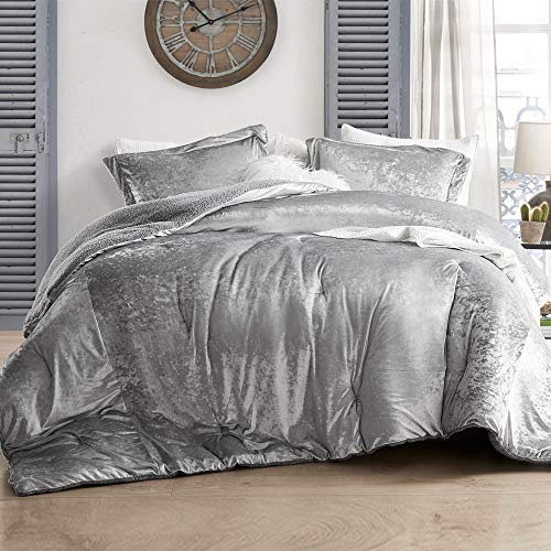 Velvet Crush – Byourbed Coma Inducer Oversized King Comforter – Champagne Alloy