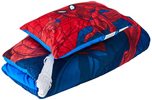 Marvel Spiderman Slumber Bag with Pillow