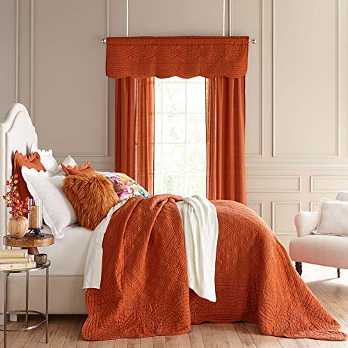 BrylaneHome Florence Oversized Bedspread – King, Spice