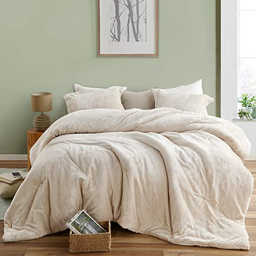 Almond Milk – The Original Plush – Byourbed Coma Inducer Oversized Queen Comforter