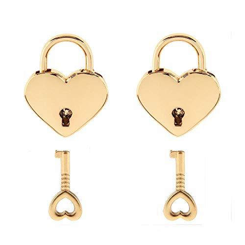 Top 10 Heart Shaped Lock – Keyed Padlocks