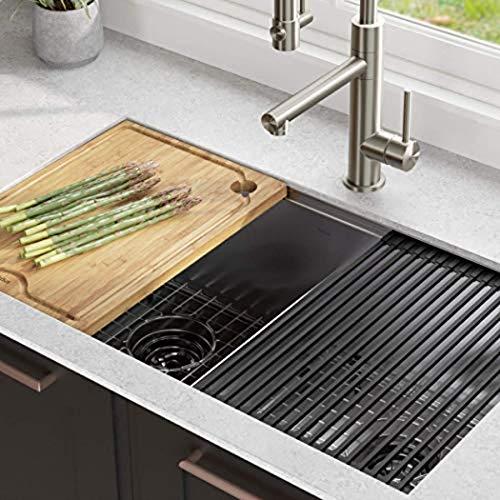 Top 8 Undermount Kitchen Sink 33 Inch – Single Bowl Kitchen Sinks