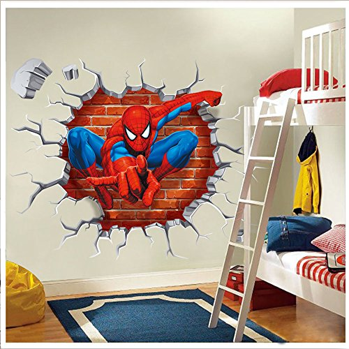 Top 8 Spiderman Bathroom Set – Wall Stickers & Murals